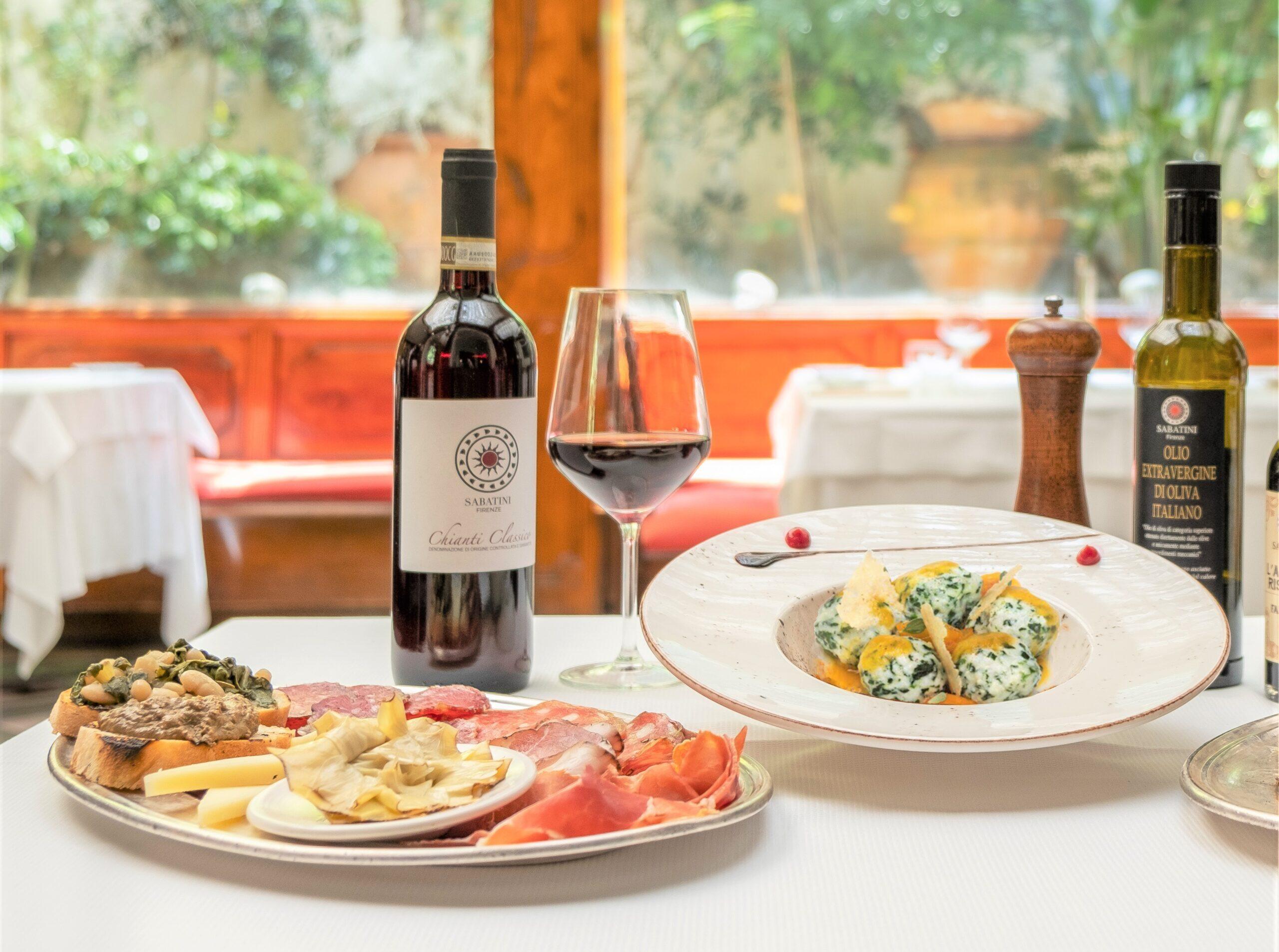 Sabatini Menù Degustazione Toscano